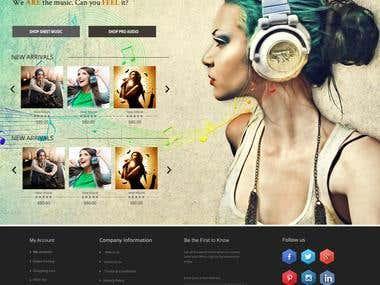 Graphics Landing Page