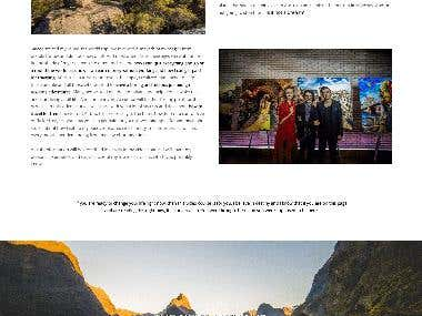 My Travel To Go website build on WordPress Monstroid2 theme
