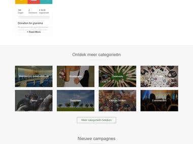 Crowdfunding web-application