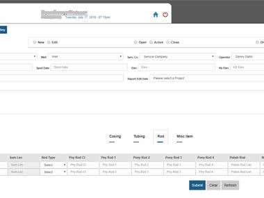 Data entry application