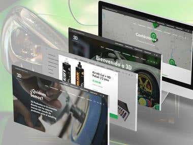 Tienda Online para la empresa 3D Argentina SA