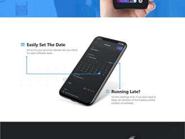 Meetings App | Website Design & Code