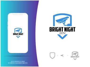 LOGO - BRIGHT NIGHT CCTV