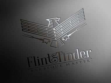 Flint&Tinder - Logo design