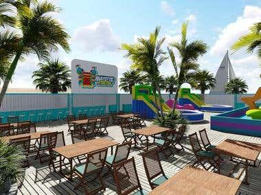3D Beach Design