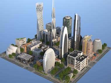 35 Detailed Buildings