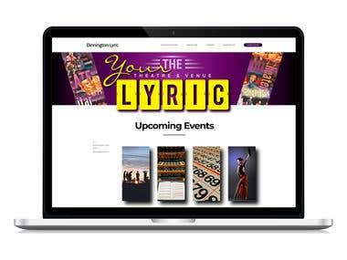 Website Design and Development (Theatre)