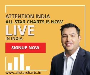 Banner Design For All Star Charts India