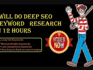 SEO Long Tail Keyword Research