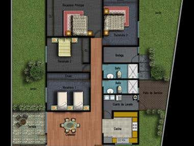 Proyecto Arquitectónico de Casa Habitación