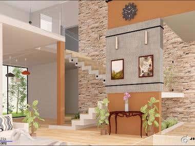 Diseño de Escaleras en Casa Habitación