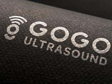 GOGO Ultrasound Logo design
