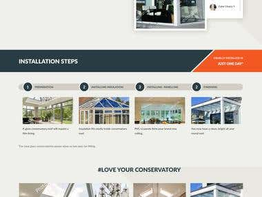 SoliRoof - Website Design