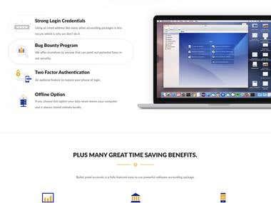 Solar Accounts - Website Design