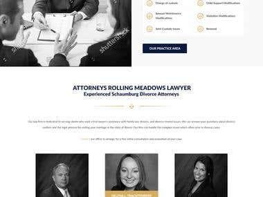 Chicago Family Law - Website Design