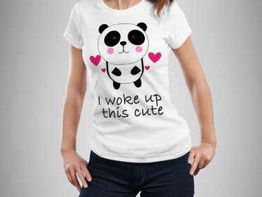 Cute Tshirt Design