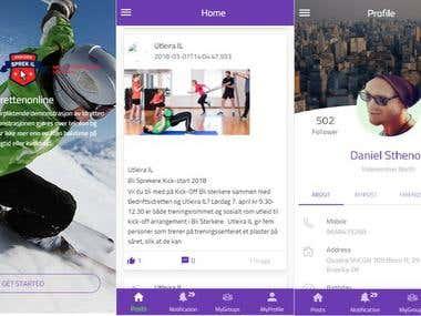 Ionic - Sports App