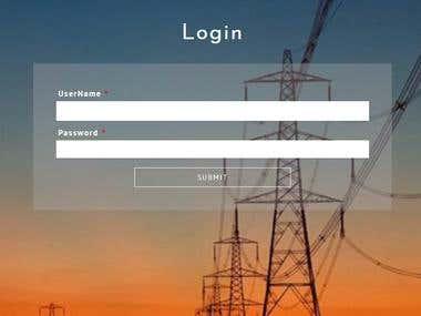 Website using JSP