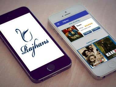 Rajhans - Movie ticket booking, Seat management, API develop