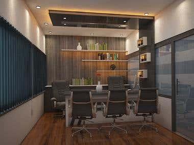 Rendering 3D office