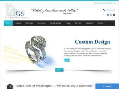IGS Diamond - Jewelry website