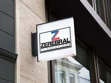 Zerebral logo design