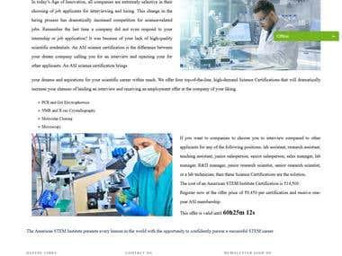 Online Exam Certificate Website