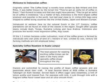 Indonesian-Coffee Blog