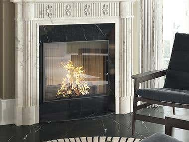 Fireplaces design