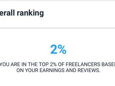 Top 2% Freelancer