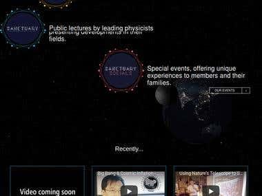Even Website on Laravel