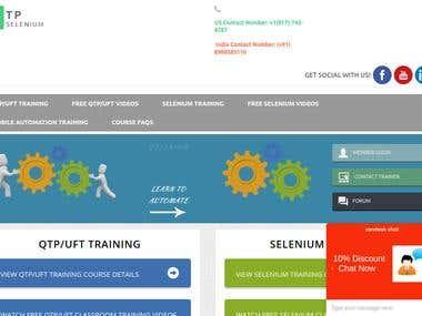 Educational site on JavaScript