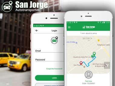 San Jorge (Uber-like app for Costs Rica)