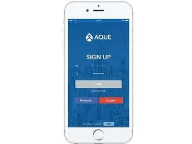 Aque Mobile app
