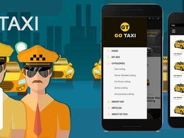 GoTaxi Mobile Application