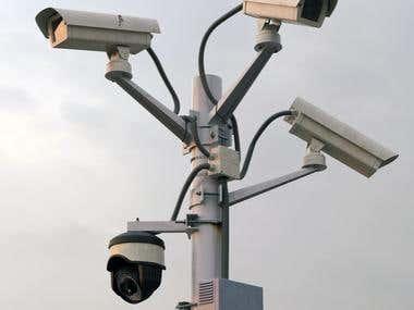 CCTV camera scene