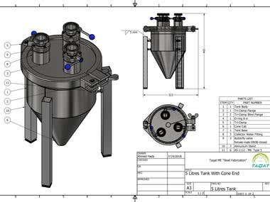 5 Liter Tank