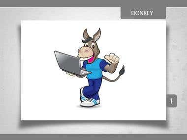 DONKEY_Illustration