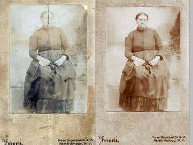 Old Lady - Photo Restoration