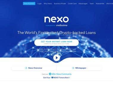 Web - Crypto-backed Loan Site