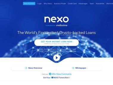 Web - Crypto-backed Loan Site
