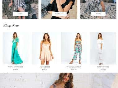 Shopify :- shop.cleobella.com