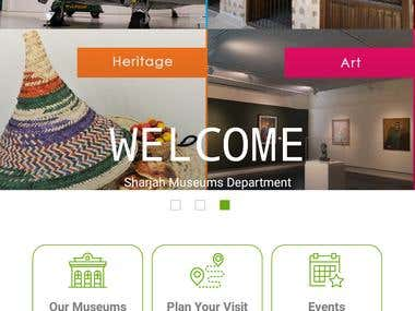 Sharjah Museums App