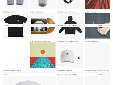 Shopify :- www.ghostly.com