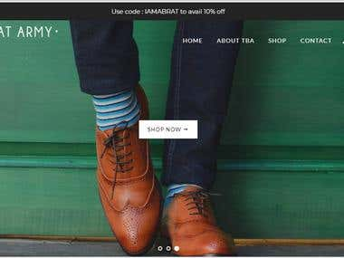 Shopify Shoe Store