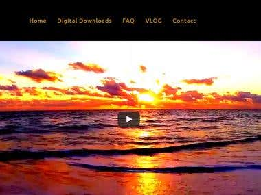 Shopify Video Store