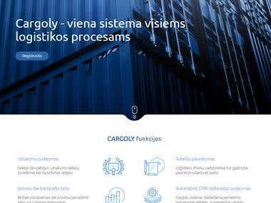 Cargloy website