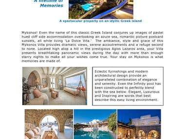 Mykonos! Because you deserve it. Travel