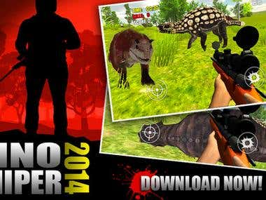 HUNT or BE HUNTED! - Amazing Dinosaur Sniper Game. With REAL