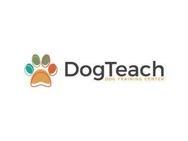 Project for Rafiqul I. -- Dog trainer center logo